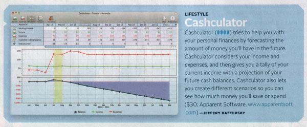 Macworld Cashculator
