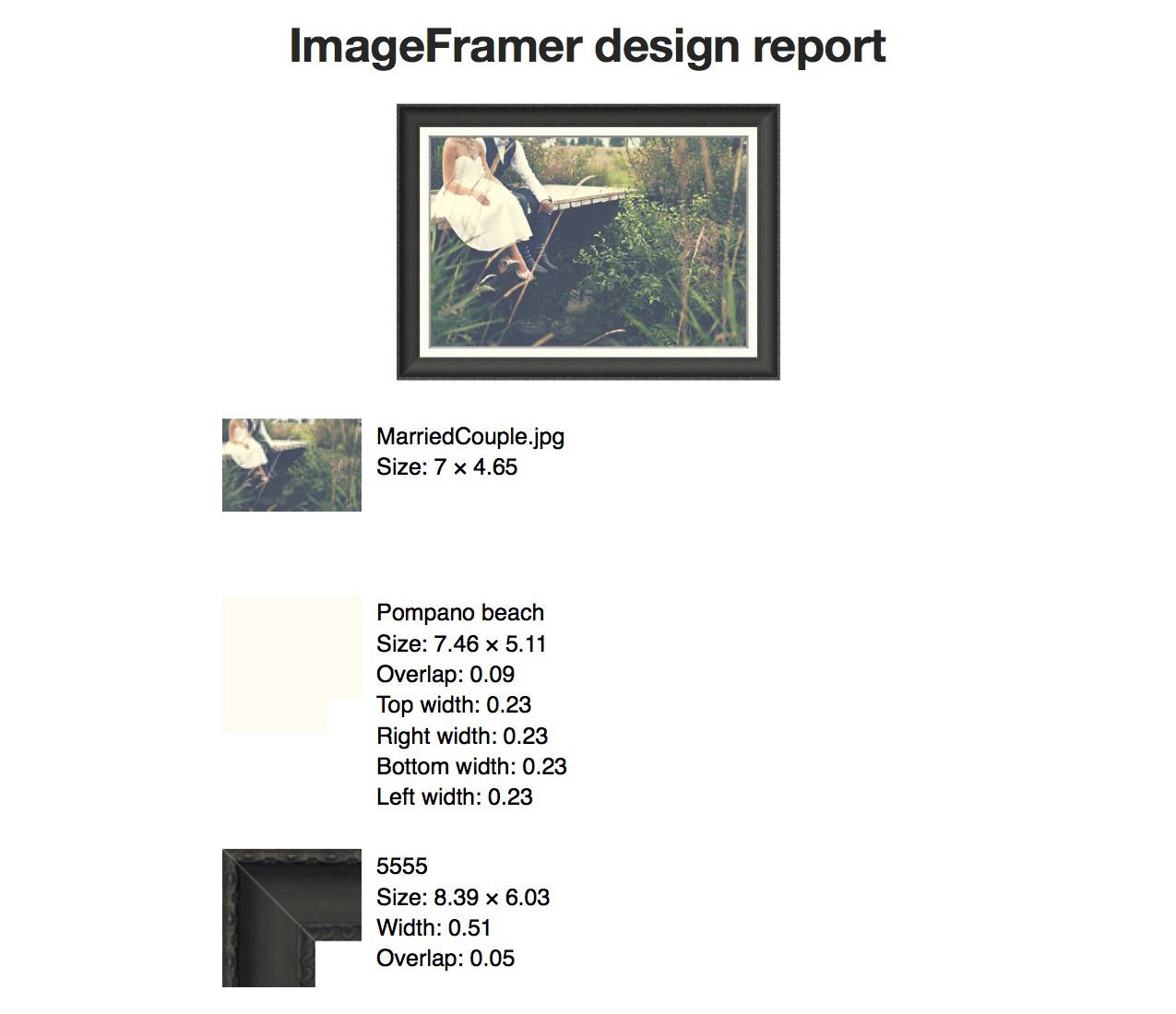 ImageFramer Report-2