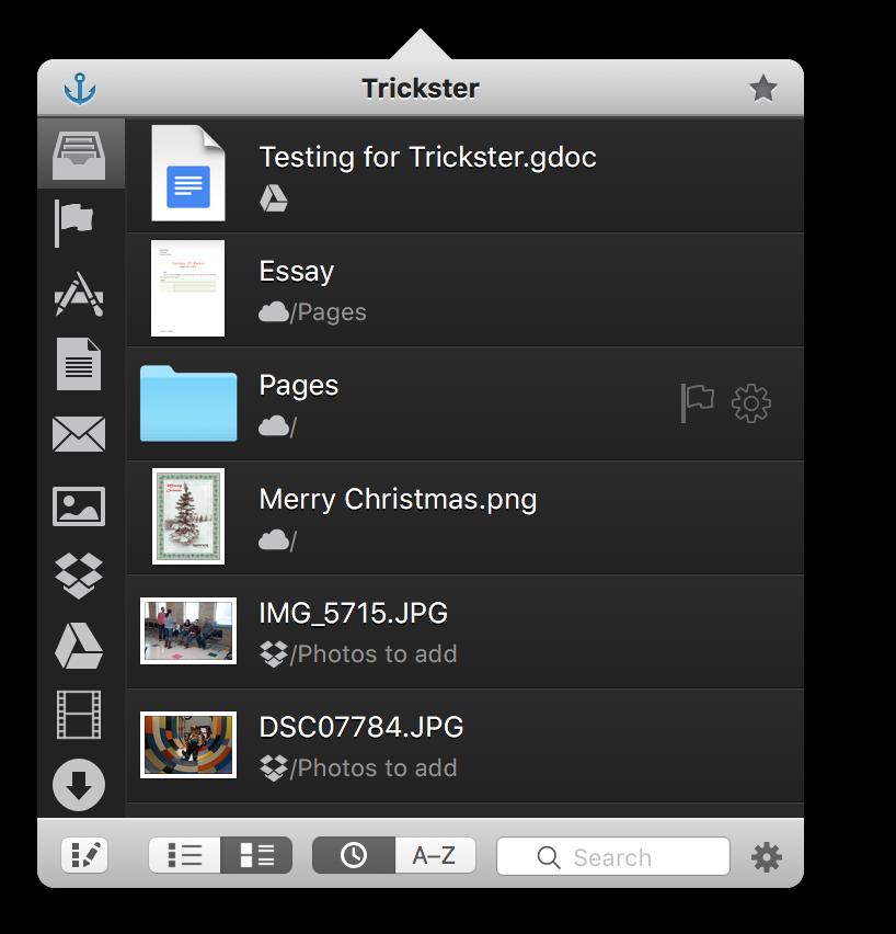 Trickster 2.4 screenshot