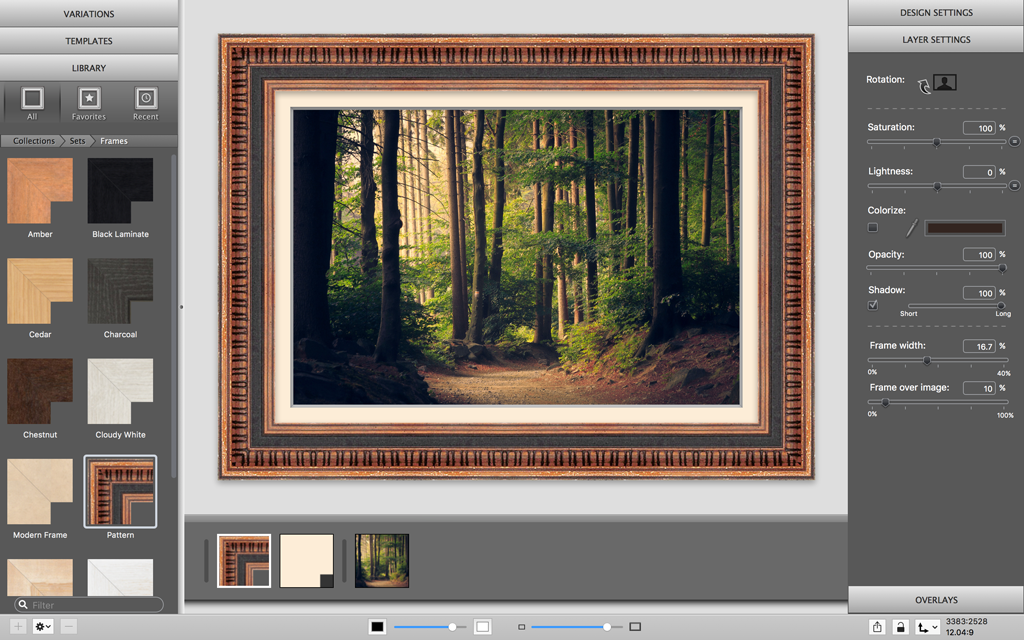 Create Seamless Frames with ImageFramer — ImageFramer for Mac