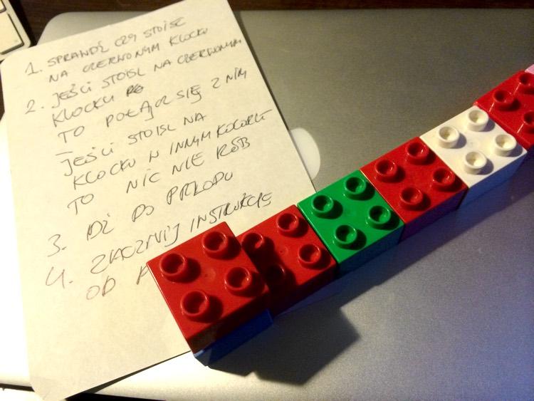 Lego blocks program